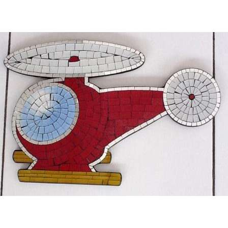 Mosaic Helicopter