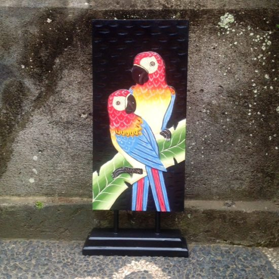 Parrot plaque