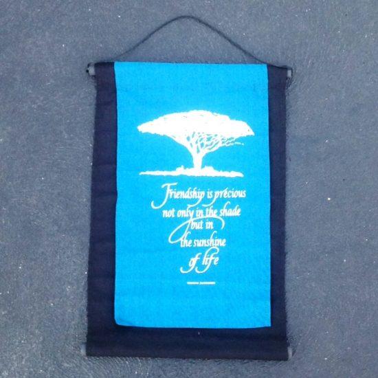 Affirmation banner