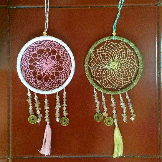 Dreamcatcher lace