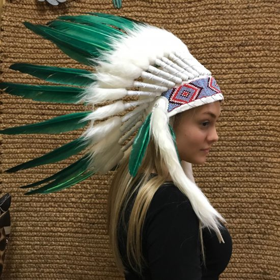 Indian Headdress specify colour