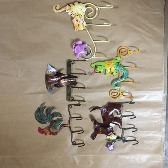 hook mixed set animals pack 4