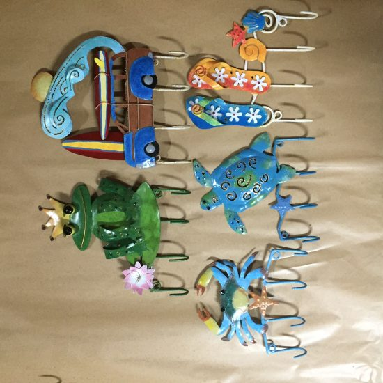 Hook mixed set sea life pack 4