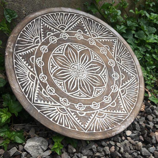 Carved plate medium