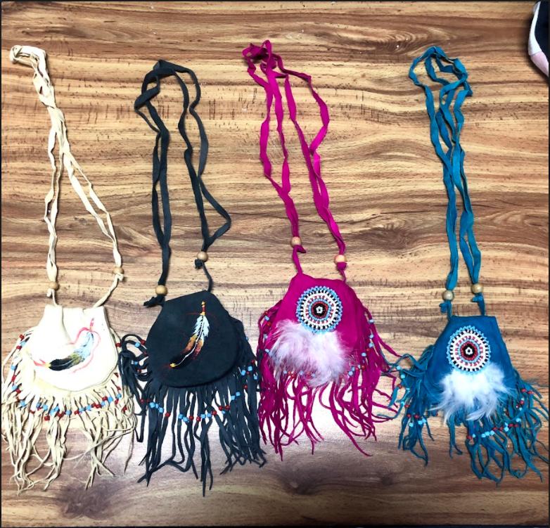 Indian Amulet Bag