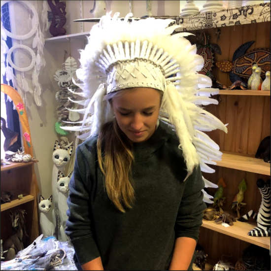 white headress