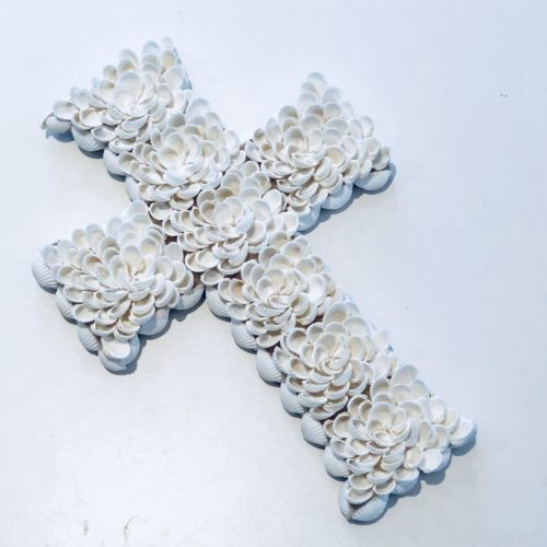 Flower shell cross