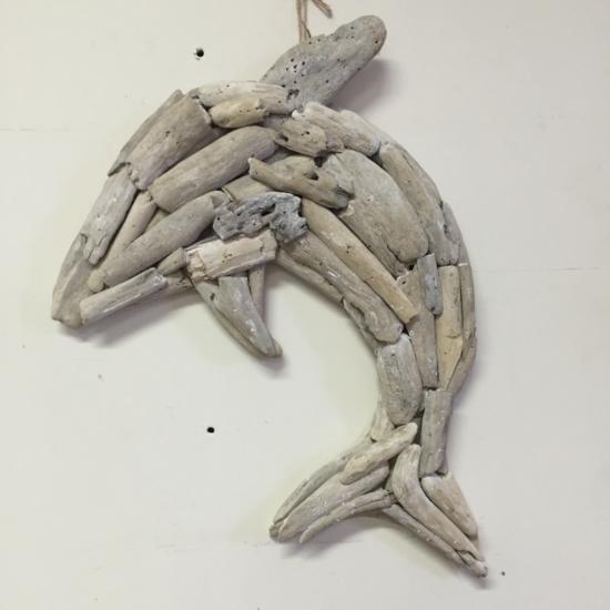 Driftwood dolphin 50cm