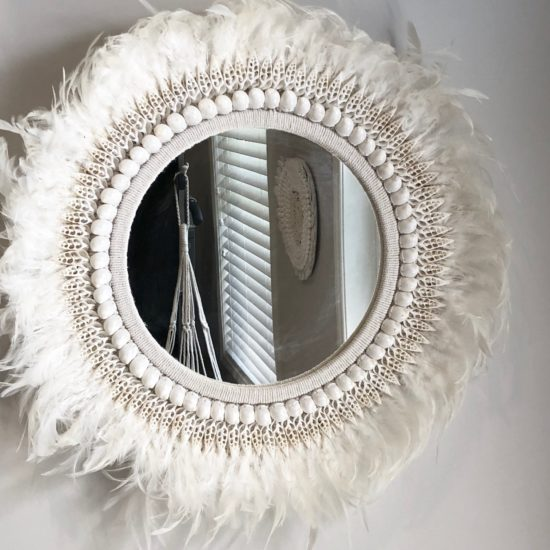 Mirror feathers shells