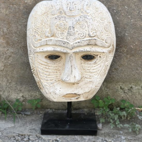 TRIBAL STONE MASK SML