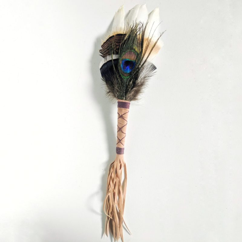 Smudging Feather Peacock