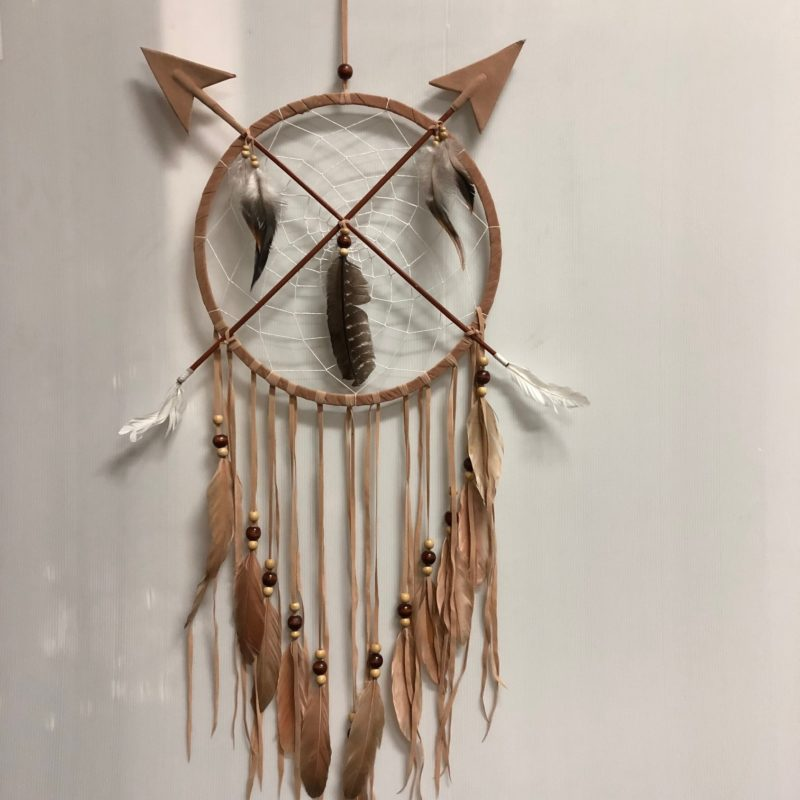 Arrow dreamcatcher brown