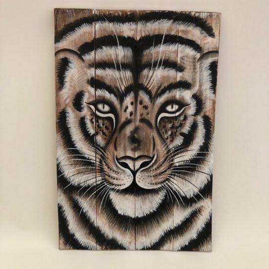 Tiger wall plaque