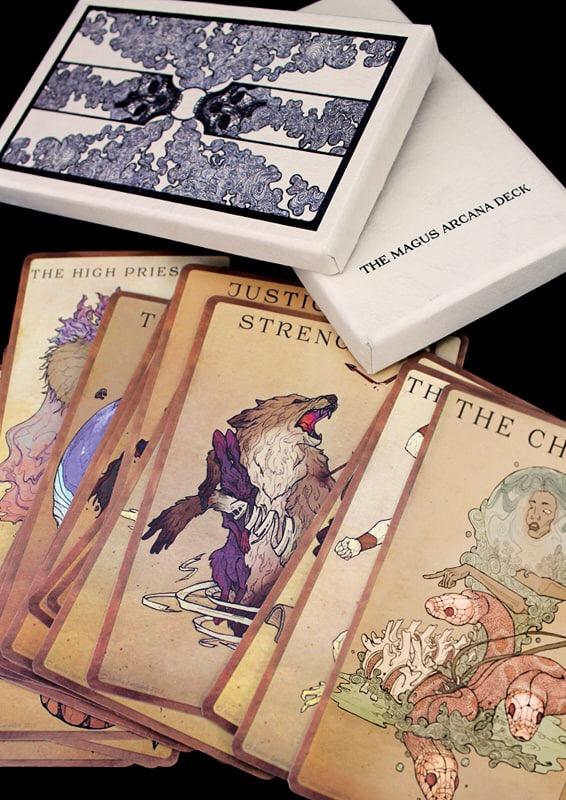 Tarot card deck - The Magus Arcana